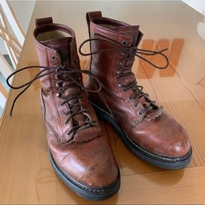 Cabela's Men Brown Leather Gore-Tex Boots Size 9EE